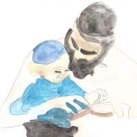 """""""Alef Beis with Tatti by Chani Gordon"""" by AnashChinuch"""