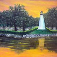 Antiquated Lighthouse Art Prints & Posters by Rick Schimpf
