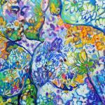 Wild Flower Bear Kiss by RD Riccoboni