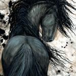 DreamWalker Horse Bihrle #123 Prints & Posters