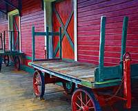 Train Carts by Kirt Tisdale