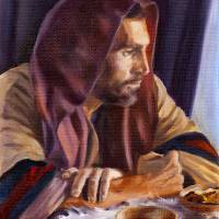 The Pensive Christ Art Prints & Posters by Lester Yocum