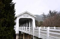 Covered Bridge Entrance by Kirt Tisdale