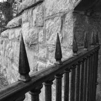 Newport Stone Wall And Gate Art Prints & Posters by Guy Page
