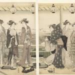 Zomer tafereel, Toyokuni (II), Utagawa, 1785 - 179 Prints & Posters
