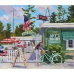 Arts Beer Garden Prints & Posters