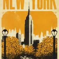 New York - Harry & Sally Art Prints & Posters by Justin Van Genderen