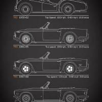 The TR Series Blueprint Art Prints & Posters by Mark Rogan