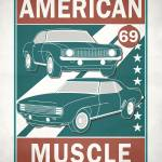 American Muscle Prints & Posters