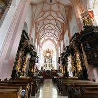 Mondsee Cathedral by Marcia Crayton