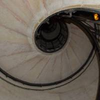 Arc du Triomphe Stairs by Marcia Crayton