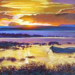 Sunrise Over The Salt Marsh Prints & Posters