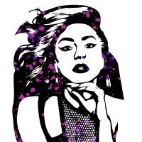 Lady Gaga   Pop Art Art Prints & Posters by William Cuccio