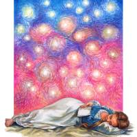 You Are With Me - Psalm139 Art Prints & Posters by Christine Kerrick