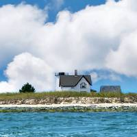 Stage Harbor Lighthouse Art Prints & Posters by Christopher Seufert