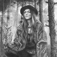 Black Magic Woman Art Prints & Posters by Peter Williams
