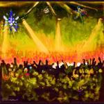 The Disco Ball - Orange by RD Riccoboni by RD Riccoboni