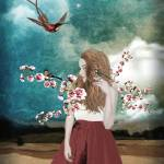 A woman in bloom Prints & Posters