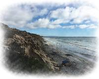 The Bluffs And The Beach by Kirt Tisdale