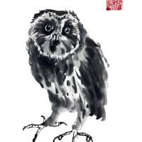 """Owl"" by JeanneRewa"