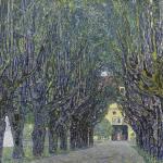 Gustav Klimt's Allee at Schloss Kammer (1910) Prints & Posters