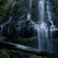 """Waterfall Light"" by wayartsy"