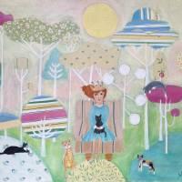 Finding joy in each day Art Prints & Posters by Juli Cady Ryan