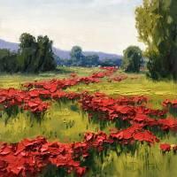 Wild Reds Art Prints & Posters by Kim VanDerHoek