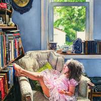 Tiny Dancer Art Prints & Posters by Kelly Eddington