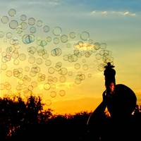 Bubble Sunset