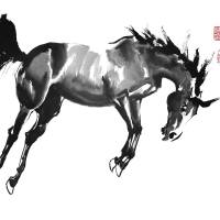"""Windhorse 2"" by JeanneRewa"