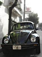 Black VW Bug 2