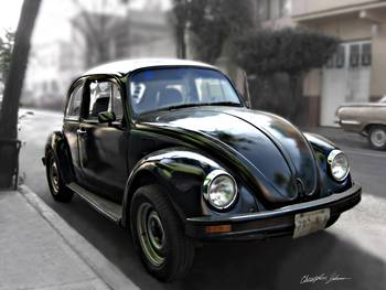 Black VW Bug 9