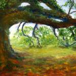 """Gnarly Oak Tree"" by Lenora"