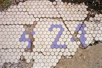 Pavement Mosaic, New Orleans, 1995