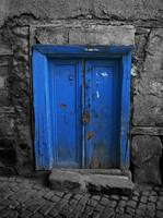 Blue Door In The Castle
