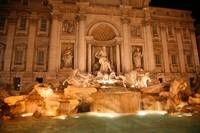 Trevi Fountain at Night 2007