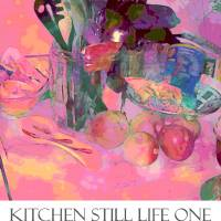 Kitchen Still Life One Poster ©2007 Faye Cummings by Faye Cummings