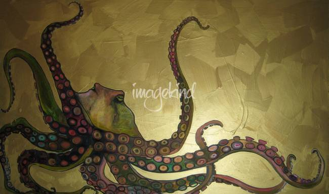 Octopus in Gold