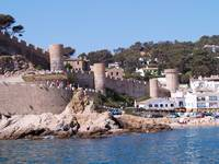 Castle at Tossa de Mar