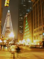 indianapolis @ night by m higgins