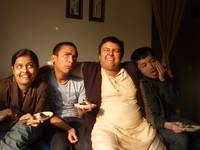 Shy,me,Abhi and Kuni