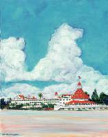 Hotel Del Coronado from The Beach