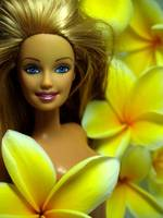 Yellow-Flowered Barbie