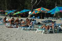 beach chairs at Bang tao beach