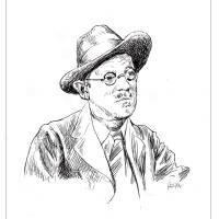 James Joyce Art Prints & Posters by Padraic O'Reilly