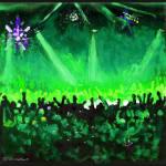 Disco Ball Dance-Green by RD Riccoboni by RD Riccoboni