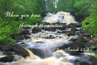 Through The Waters - Isaiah 43:2