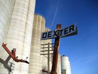 Grain Silos - Dexter, Iowa