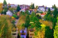 Seattle Housing - Miniature effect